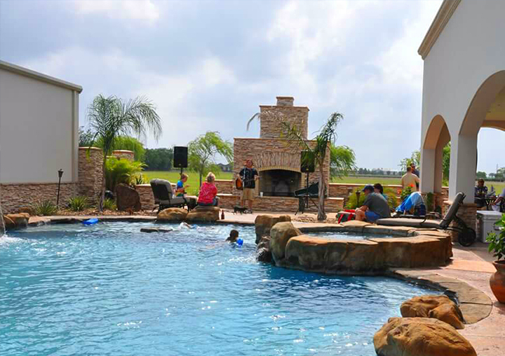 Residential Swimming Pool Contractors Beaumont Tx Nederland Tx