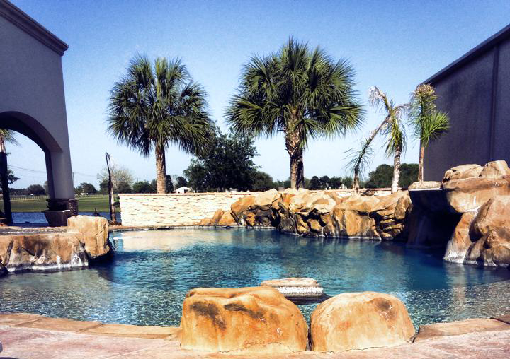 residential swimming pool contractors beaumont tx